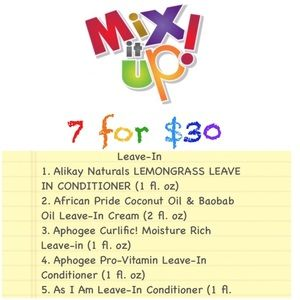 Mix It Up! Bundle Box (Leave In Conditioner)